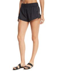 Seafolly - Active Runner Side-zip Boardshorts - Lyst