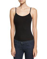 Neiman Marcus Soft-touch Cami Bodysuit