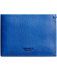Shinola - Men's Slim Leather Bifold Wallet - Lyst
