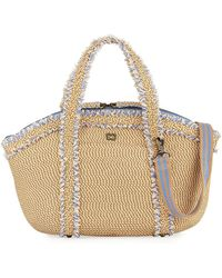 Eric Javits - Squishee® Covet Fringed Tote Bag - Lyst