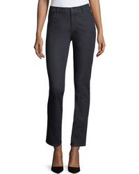 Lafayette 148 New York Plus Size Thompson Colored Slim-leg Jeans - Blue