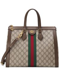 Gucci Ophidia Small Gg Tote Bag - Natural