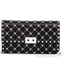 Valentino   Free Rockstud Spike Small Quilted Shoulder Bag   Lyst