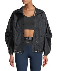 adidas By Stella McCartney - Run Wind-resistant Floral Performance Jacket - Lyst
