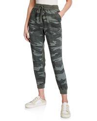 Splendid - Boardwalk Camo-print Jogger Pants - Lyst