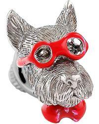Tateossian - Bookish Scottish Terrier Pin - Lyst