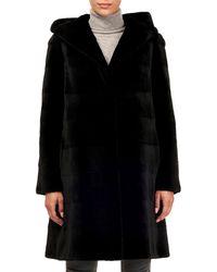 Gorski - Reversible Sheared Mink Stroller Coat - Lyst