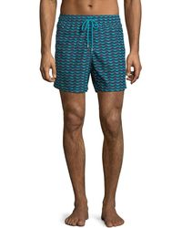 Vilebrequin - Poisson Shamac Fast-drying Swim Trunks - Lyst