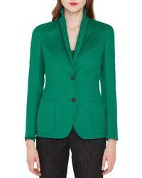 Akris - Saigon Two-button Notched-collar Cashmere-wool Blazer - Lyst