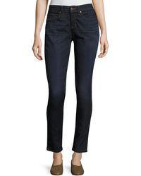 Eileen Fisher - Organic Skinny Ankle Jeans - Lyst