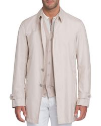 Stefano Ricci - Button-front Silk Trench Coat - Lyst