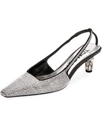 Tom Ford - Crystal-beaded Slingback Pumps - Lyst