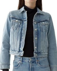 Agolde - Reputation Shrunken Jean Jacket - Lyst
