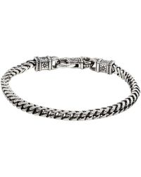 Konstantino - Men's Sterling Silver Chain Link Bracelet, Size M - Lyst