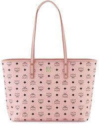 MCM - Anya Medium Top-zip Shopper Bag - Lyst