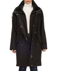 Gorski - Reversible Sheared Mink Stroller Coat W/ Short-nap Collar - Lyst