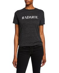 Rodarte - Radarte Crewneck Tee - Lyst