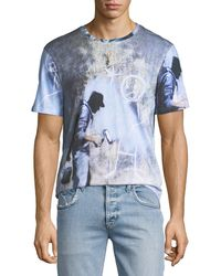 ELEVEN PARIS - Men's Ghost Graffiti T-shirt - Lyst