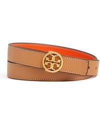 Tory Burch - Reversible Logo-buckle Belt - Lyst