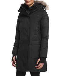 Nobis | Meredith Coat With Fur Hood | Lyst