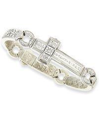 Konstantino - Men's Dare Sterling Silver Cross Bracelet 3 - Lyst
