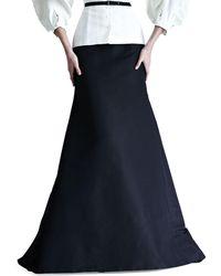 Carolina Herrera - Silk Faille Gown Skirt - Lyst