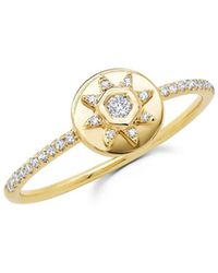 Ron Hami Starstruck 14k Diamond Ring - Metallic