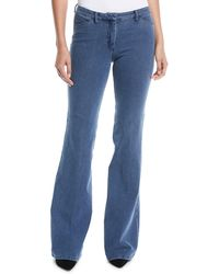 Theory - Demitria 2 D Movement Flare Denim Jeans - Lyst