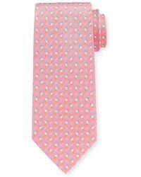 Ferragamo   Stingray Silk Tie   Lyst