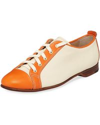 Gravati - Colorblock Smooth Leather Sneaker - Lyst