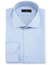 Ike Behar - Gold Label Dobby Cotton Dress Shirt - Lyst