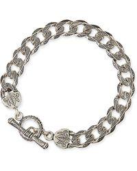 Konstantino - Men's Sterling Silver Flat Link Bracelet - Lyst