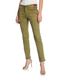 Veronica Beard - Adrina Ankle Skinny Jeans W/ Waist Tabs - Lyst