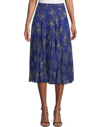 Camilla & Marc - Stanwyck A-line Pleated Skirt - Lyst