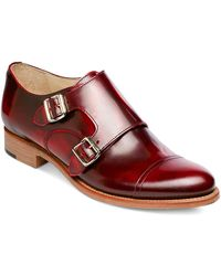 The Office Of Angela Scott Mr. Colin Double-monk Oxfords - Red