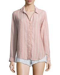 Xirena - Scout Striped Lounge Shirt - Lyst
