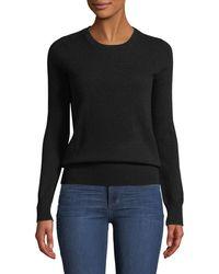 Neiman Marcus - Cashmere Crewneck Sweater - Lyst