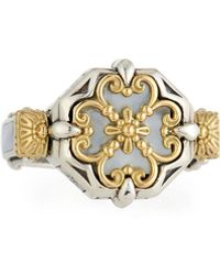 Konstantino - Hestia Mother-of-pearl Ring - Lyst