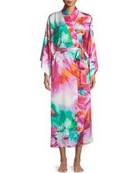 Natori - Paraiso Long Kimono Robe - Lyst