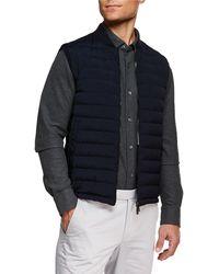 Ermenegildo Zegna - Men's Light Padding Microfiber Vest - Lyst