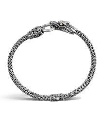John Hardy - Naga Dragon Station Chain Bracelet - Lyst