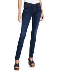True Religion - Stella Mid-rise Skinny Jeans - Lyst