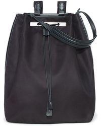 The Row - Backpack 11 Nylon Bag Black - Lyst