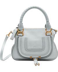 Chloé - Marcie Small Double-carry Satchel Bag - Lyst