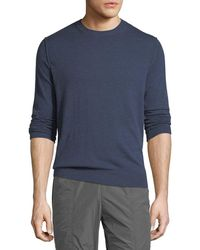 Vince - Men's Heathered Crewneck Sweater - Lyst