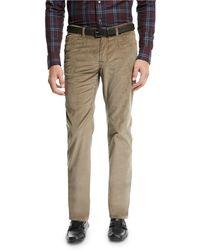Brioni - Men's Five-pocket Corduroy Pants - Lyst
