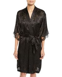 Lise Charmel - Dressing Solaire Floral Lace Robe - Lyst