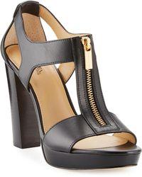 1810e200fd1b0 MICHAEL Michael Kors - Berkley T-strap Platform Dress Sandals - Lyst