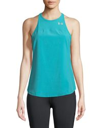 Under Armour - Accelerate Cross-back Performance Tank - Lyst