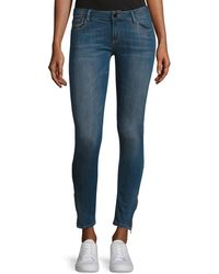Etienne Marcel - Em7010 Signature Zip-cuff Skinny Jeans - Lyst